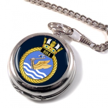 884 Naval Air Squadron Pocket Watch