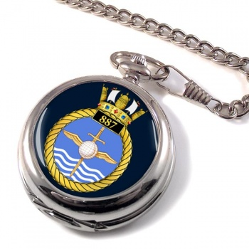 887 Naval Air Squadron Pocket Watch