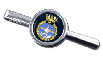 887 Naval Air Squadron (Royal Navy) Round Tie Clip