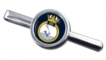 890 Naval Air Squadron (Royal Navy) Round Tie Clip