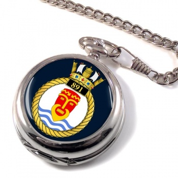 891 Naval Air Squadron (Royal Navy) Pocket Watch