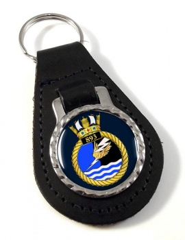 893 Naval Air Squadron Leather Key Fob
