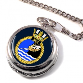893 Naval Air Squadron Pocket Watch