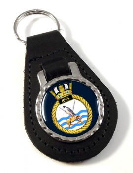 895 Naval Air Squadron (Royal Navy) Leather Key Fob