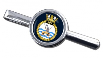 895 Naval Air Squadron (Royal Navy) Round Tie Clip
