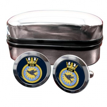 898 Naval Air Squadron (Royal Navy) Round Cufflinks