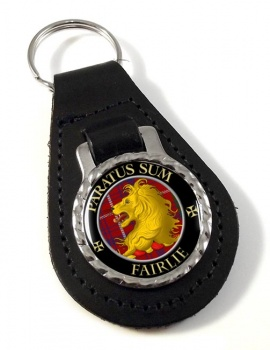 Fairlie Scottish Clan Leather Key Fob