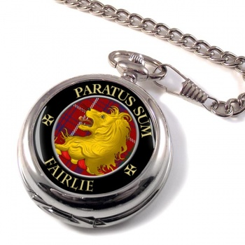 Fairlie Scottish Clan Pocket Watch