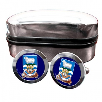 Falkland Islands Crest Cufflinks