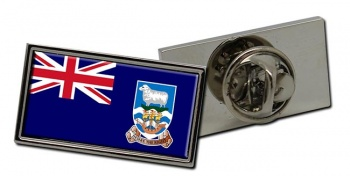 Falkland Islands Flag Pin Badge