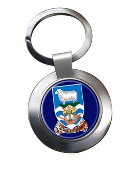 Falkland Islands Metal Key Ring