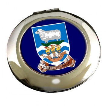 Falkland Islands Round Mirror