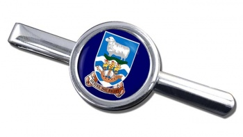 Falkland Islands Round Tie Clip