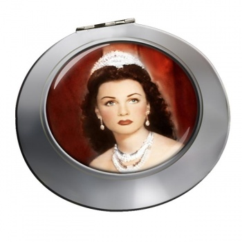 Fawzia of Egypt Chrome Mirror
