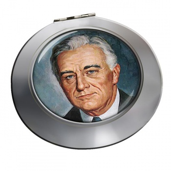 Franklin D Roosevelt Chrome Mirror