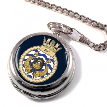 Fleet Diving Squadron RN Pocket Watch