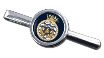 Fleet Diving Squadron RN Round Tie Clip