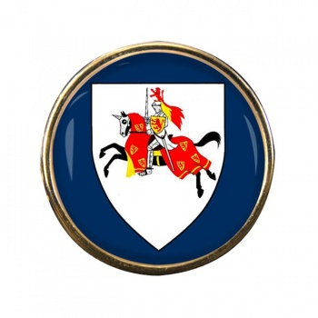 Fifeshire (Scotland) Round Pin Badge