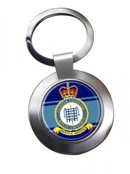 Fighter Command (Royal Air Force) Chrome Key Ring