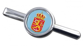 Finnish Coats of Arms Round Tie Clip