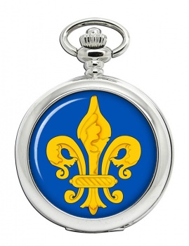 Fleur-de-lis Pocket Watch