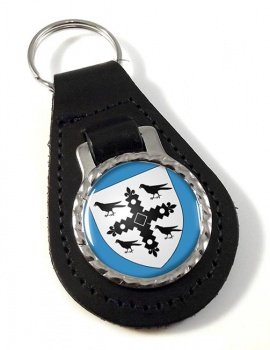 Flintshire  Leather Key Fob