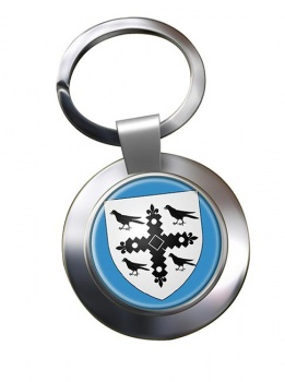 Flintshire  Metal Key Ring