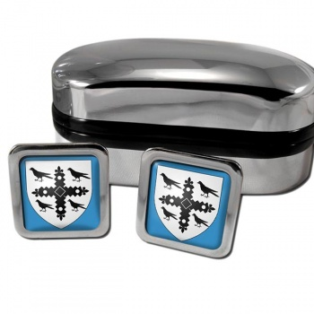 Flintshire  Square Cufflinks