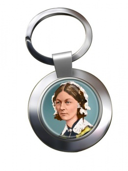 Florence Nightingale Chrome Key Ring