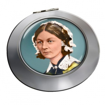 Florence Nightingale Chrome Mirror