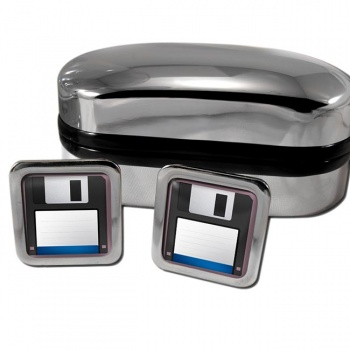 Floppy Disk Square Cufflinks