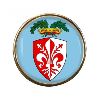 Florence Firenze (Italy) Round Pin Badge