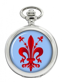 Florentine Fleur-de-lis Pocket Watch