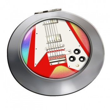 Flying V Guitar Chrome Mirror