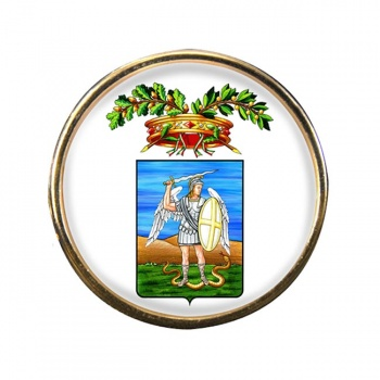 Provincia di Foggia Round Pin Badge