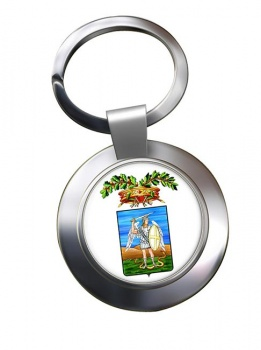 Provincia di Foggia Metal Key Ring