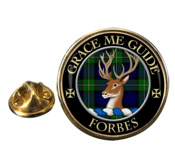 Forbes Scottish Clan Round Pin Badge