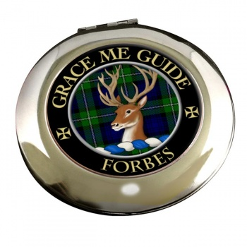 Forbes Scottish Clan Chrome Mirror