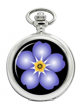 Forget-me-not Pocket Watch