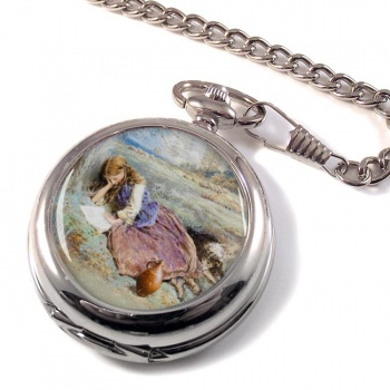 The Shepherdess by Foster Pocket Watch