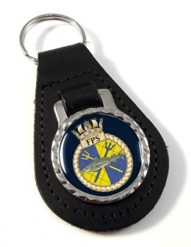 Fishery Protection Squadron (Royal Navy) Leather Key Fob