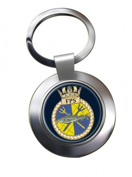 Fishery Protection Squadron (Royal Navy) Chrome Key Ring