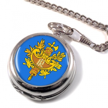 France (Crest) Pocket Watch