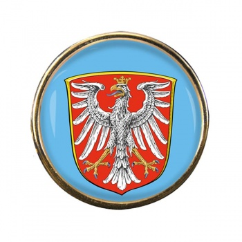 Frankfurt am Main (Germany) Round Pin Badge