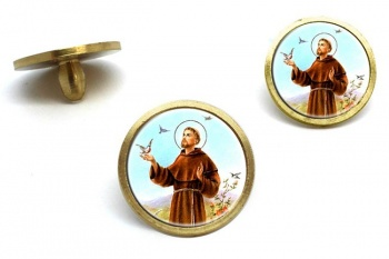 Francis of Assisi Golf Ball Markers