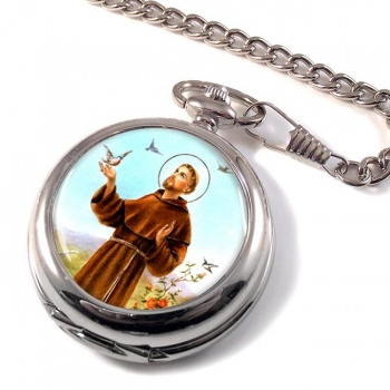 Francis of Assisi Pocket Watch