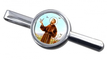 Francis of Assisi Tie Bar