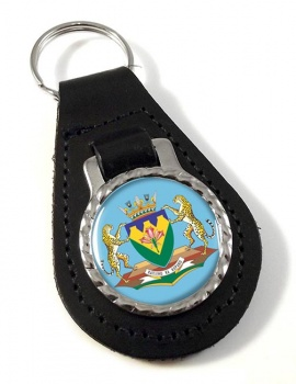 Free State (South Africa) Leather Key Fob