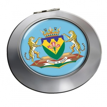 Free State (South Africa) Round Mirror