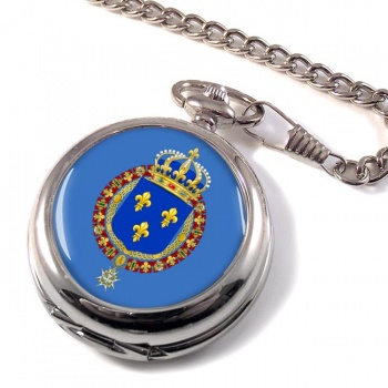 Les grandes armes de France Pocket Watch